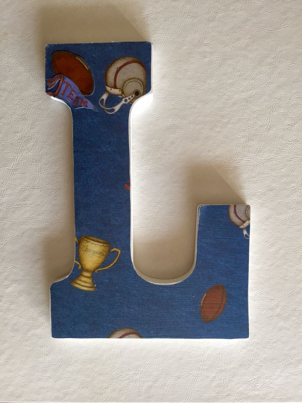 Letter L Wall Decor Logan's Sports Themed Lettersl  Letters & Signswall Decor And
