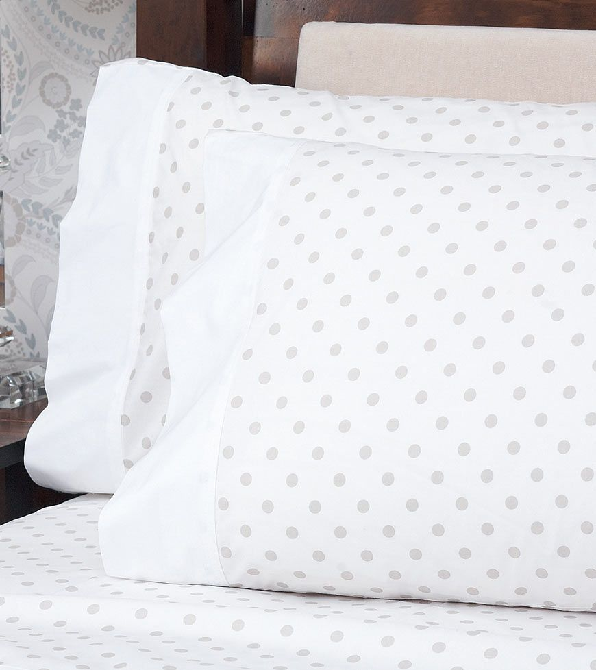 darcey spot sheet set in dove grey from laura ashley australia