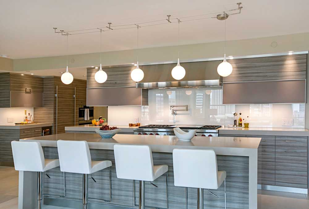 50 Modern Kitchen Lighting Ideas For Your Kitchen Island Homeluf Modern Kitchen Lighting Contemporary Kitchen Island Contemporary Kitchen Island Lighting