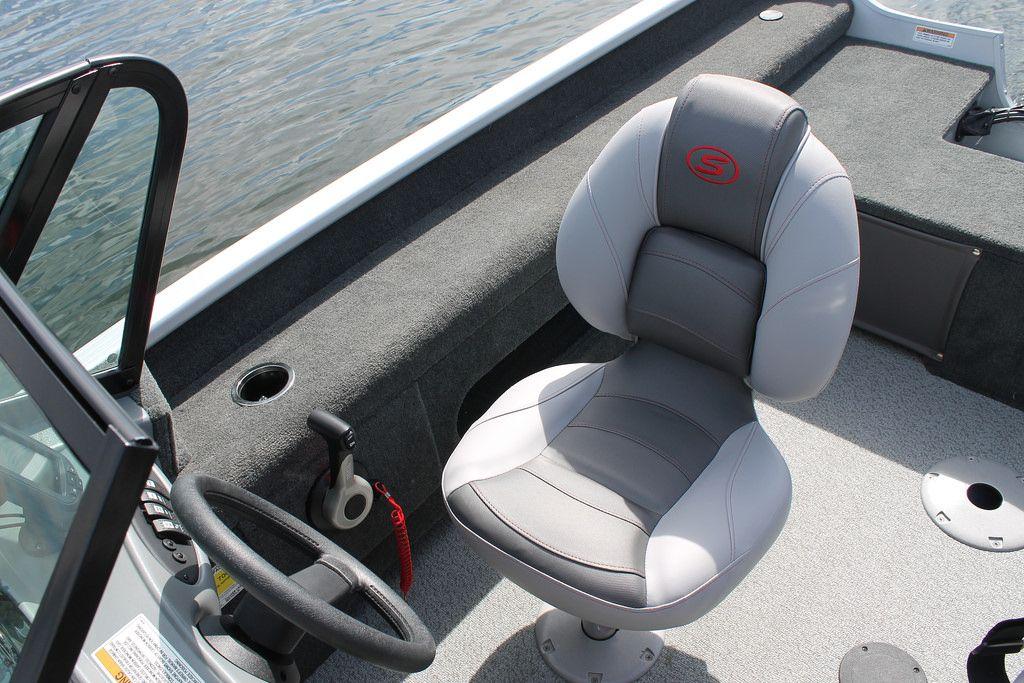 Pro Angler 161 XL fishing seat Smoker Craft fishing boat