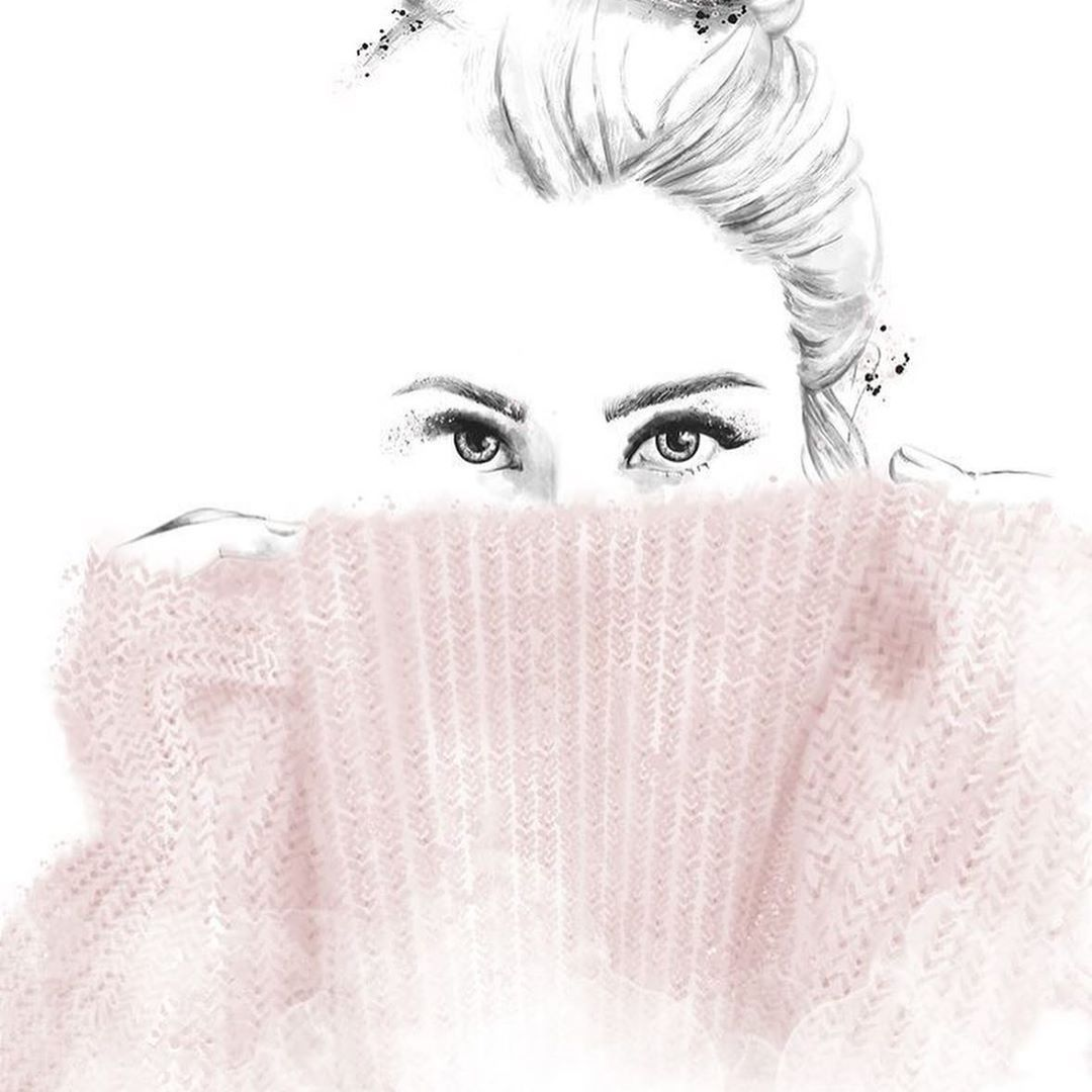 Taking Care Of Your Skin Is More Important Than Covering It Up Restore The Moisture Balance Of In 2020 Fashion Art Illustration Collagen Moisturizer Illustration