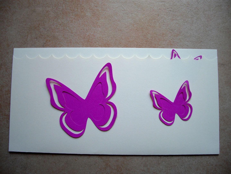 faire part bapteme papillon a faire soi meme