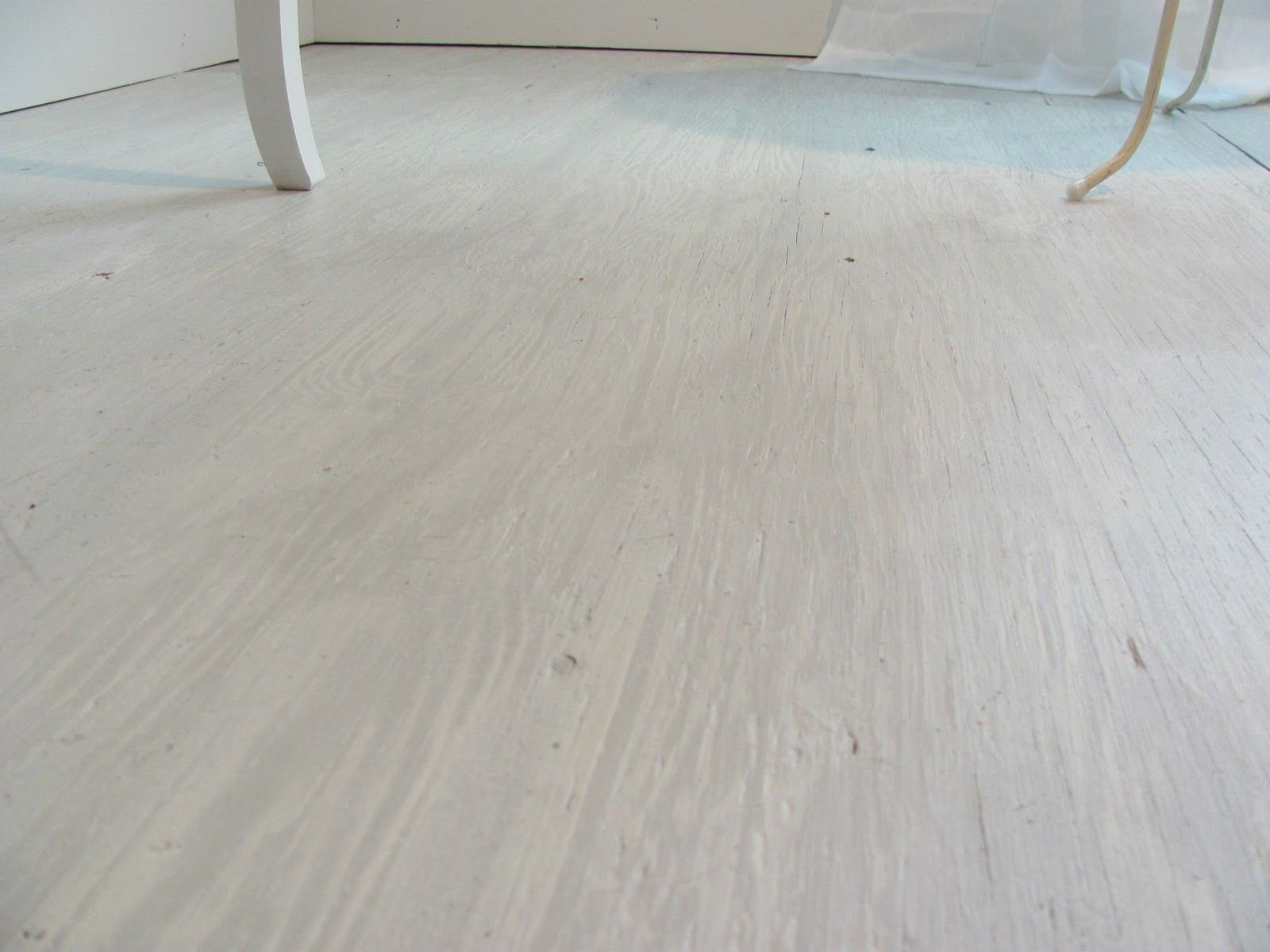 """whitewashed"" plywood floors (not really, but that's what ..."