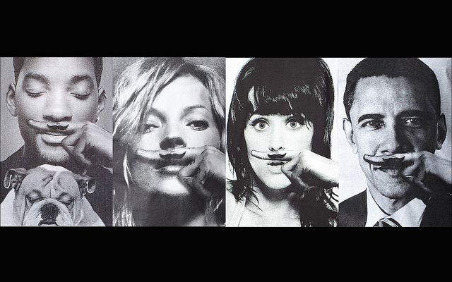 Eleven Paris Life Is A Joke Wallpaper | Mustache swag, Moustache ...