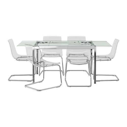 GLIVARP/TOBIAS Table and 6 chairs IKEA | Living & Being | Pinterest ...