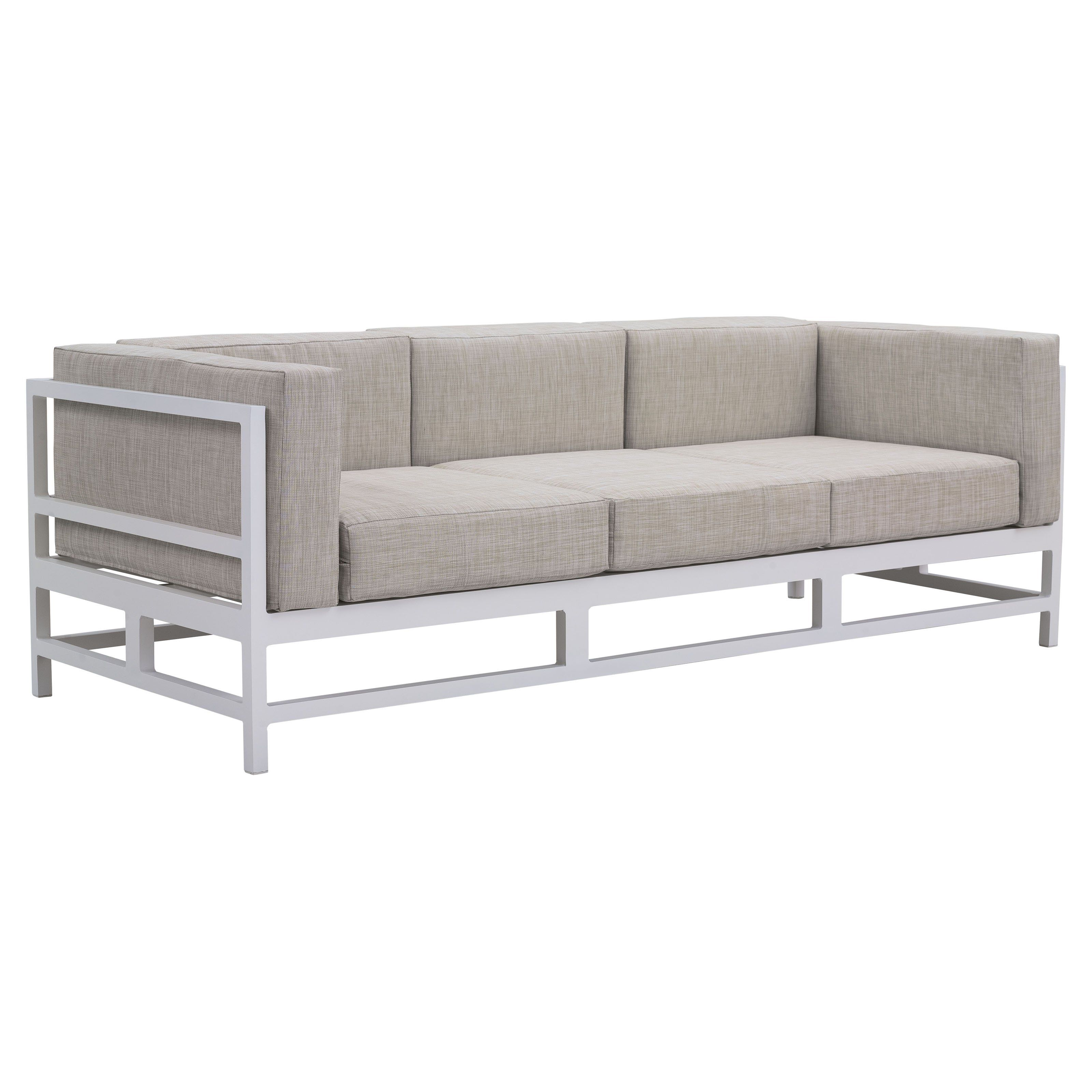 Have to have it Zuo Vive Sword Fish Aluminum Sofa $1098