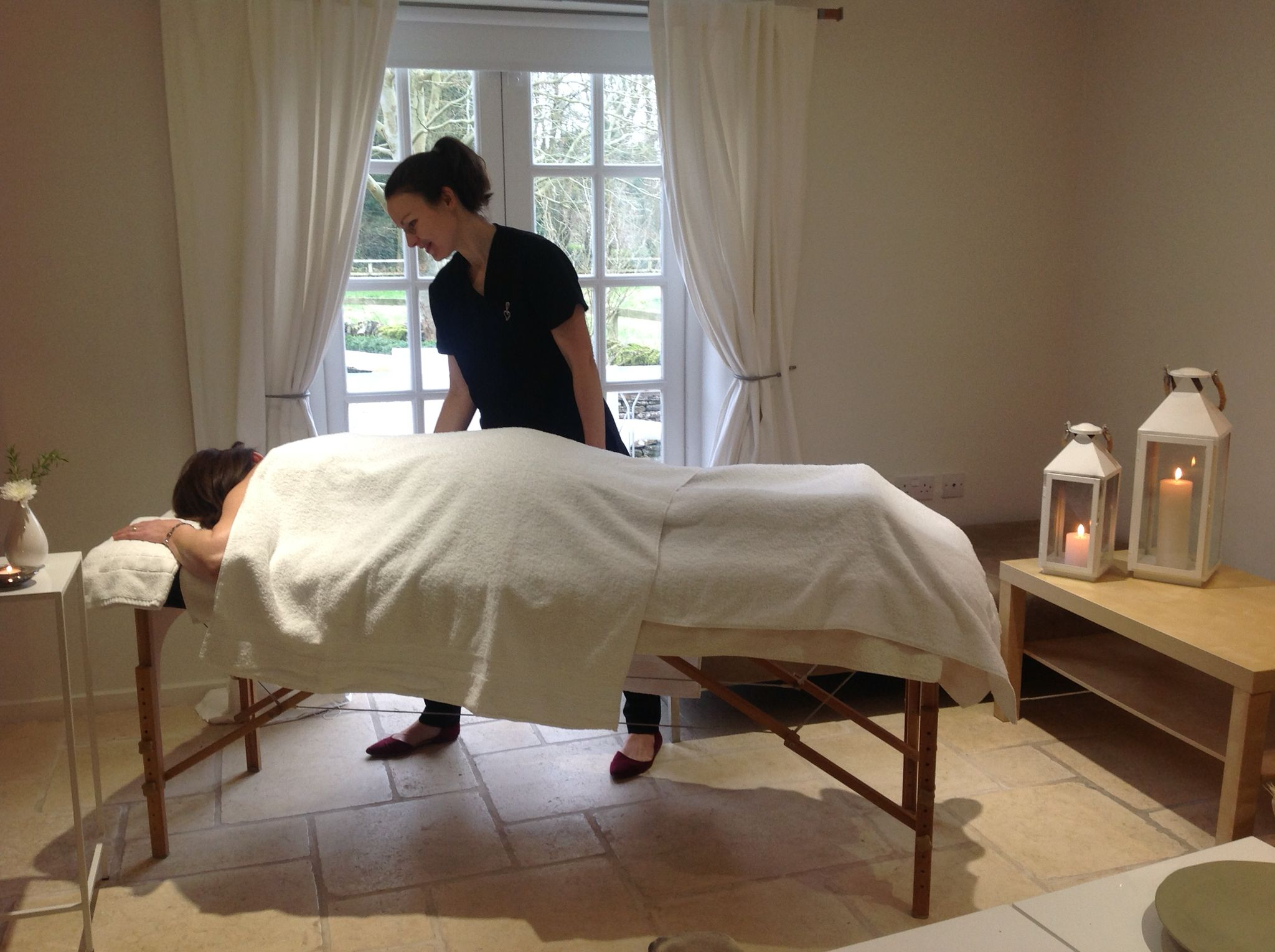 have a massage in the comfort of our cottages we bring the spa to