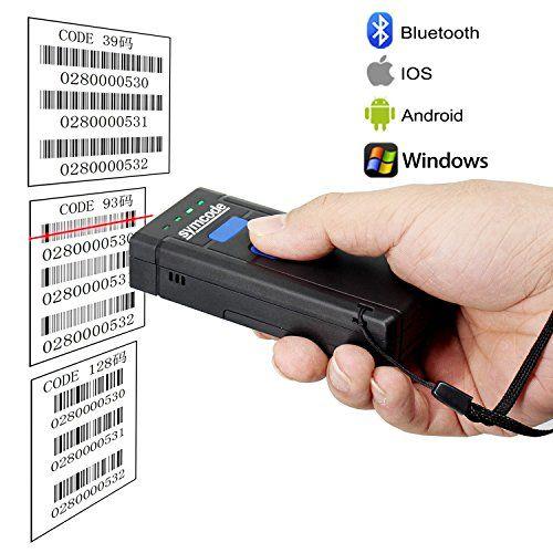 USB Bluetooth Barcode Scanner, Wireless, handheld, laser