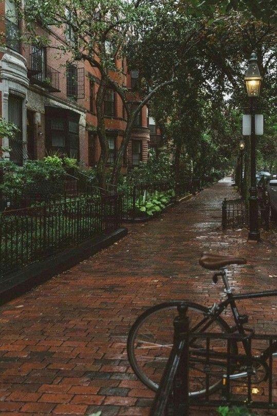 CALM my SOUL - Boston in Rain - #Boston #calm #rain #soul