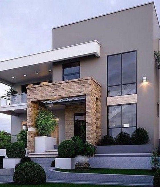 21 Most Popular Modern Dream House Exterior Design Ideas 13 Contemporary House Exterior Contemporary House Design Dream House Exterior