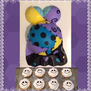 Marvelous Nightmare Before Christmas Baby Shower Theme   Google Search