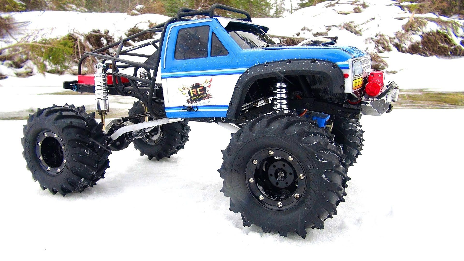 Altered Beast Deep Freeze Rc Vehicles Radio Control Rc Cars The Beast Frozen 4x4 Trail