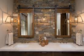 Sliding Barn Door Bathroom Mirror Medicine Cabinets Google Search With Images Sliding Barn Door Bathroom Tuscan House Bathroom Cabinets Diy