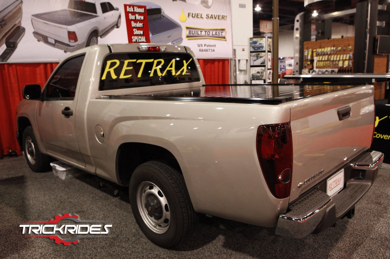 Chevrolet Colorado by Retrax Truck Bed Cover at SEMA