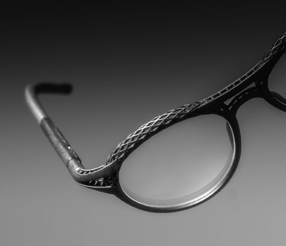 Photo of Hoet Cabrio – 3D laser printed eyewear frames 'made in Belgi…