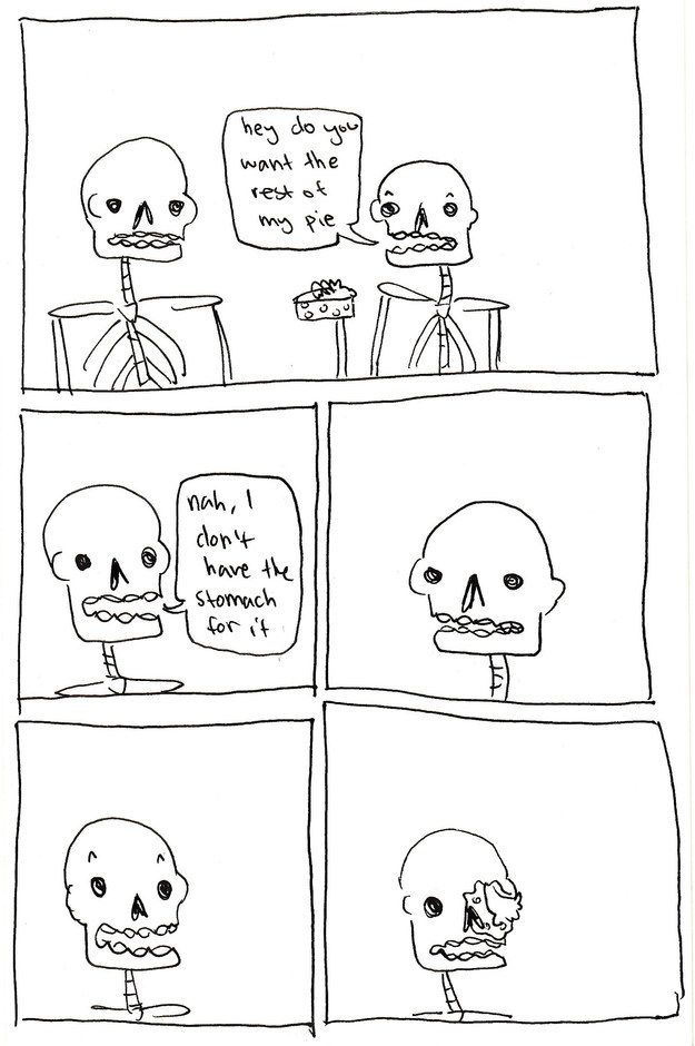 21 Punny Skeleton Comics That Will Tickle Your Funny Bone | Never ...