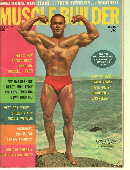 Muscle Builder January 1963 covers magazine bodybuilding 60/70s