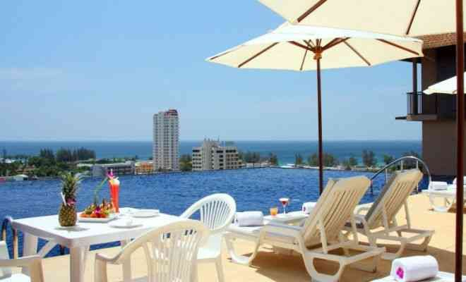 Hotelli Karon Phunaka Resort & Spa, uima-allas - Karon Beach, Phuket