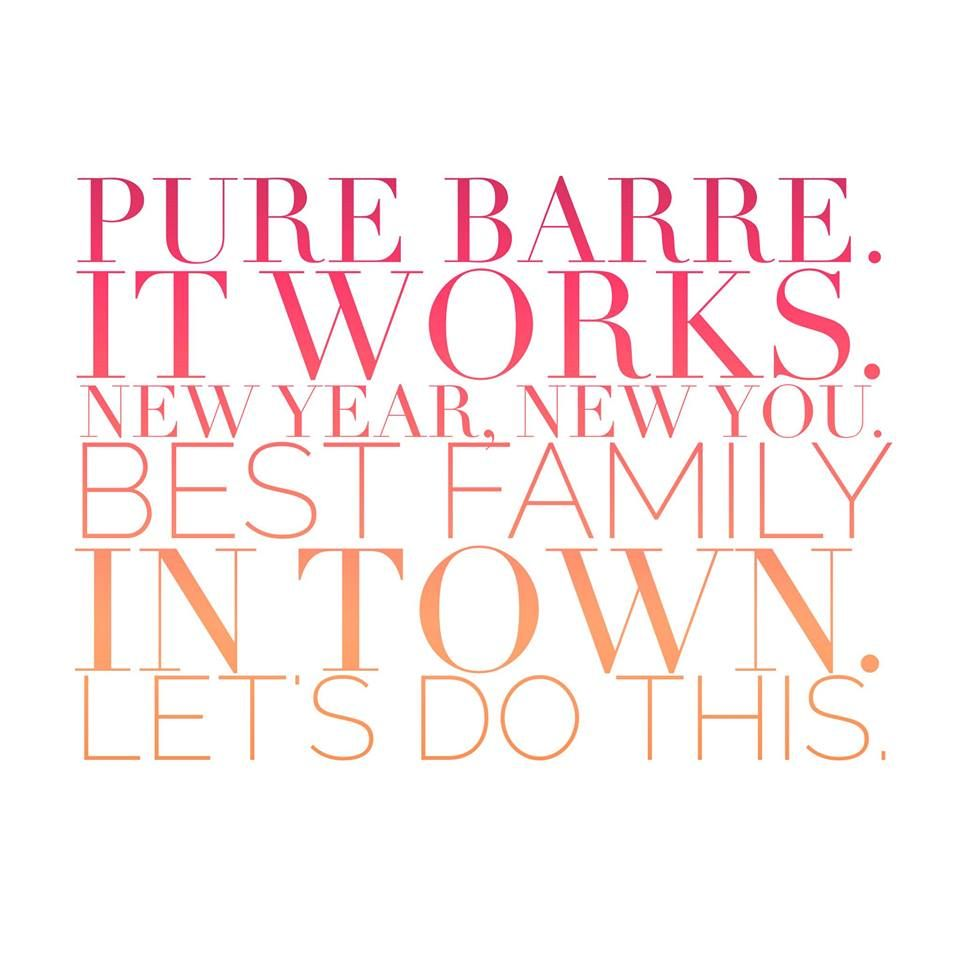 Pure Barre SouthPark said it right! New Year, New You… let's do this! #SpecialtyShopsSouthPark #PureBarre