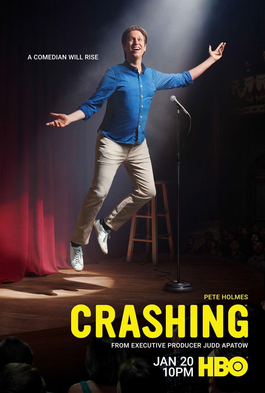 Crashing Tv Series 2017 Pete Holmes New Movies