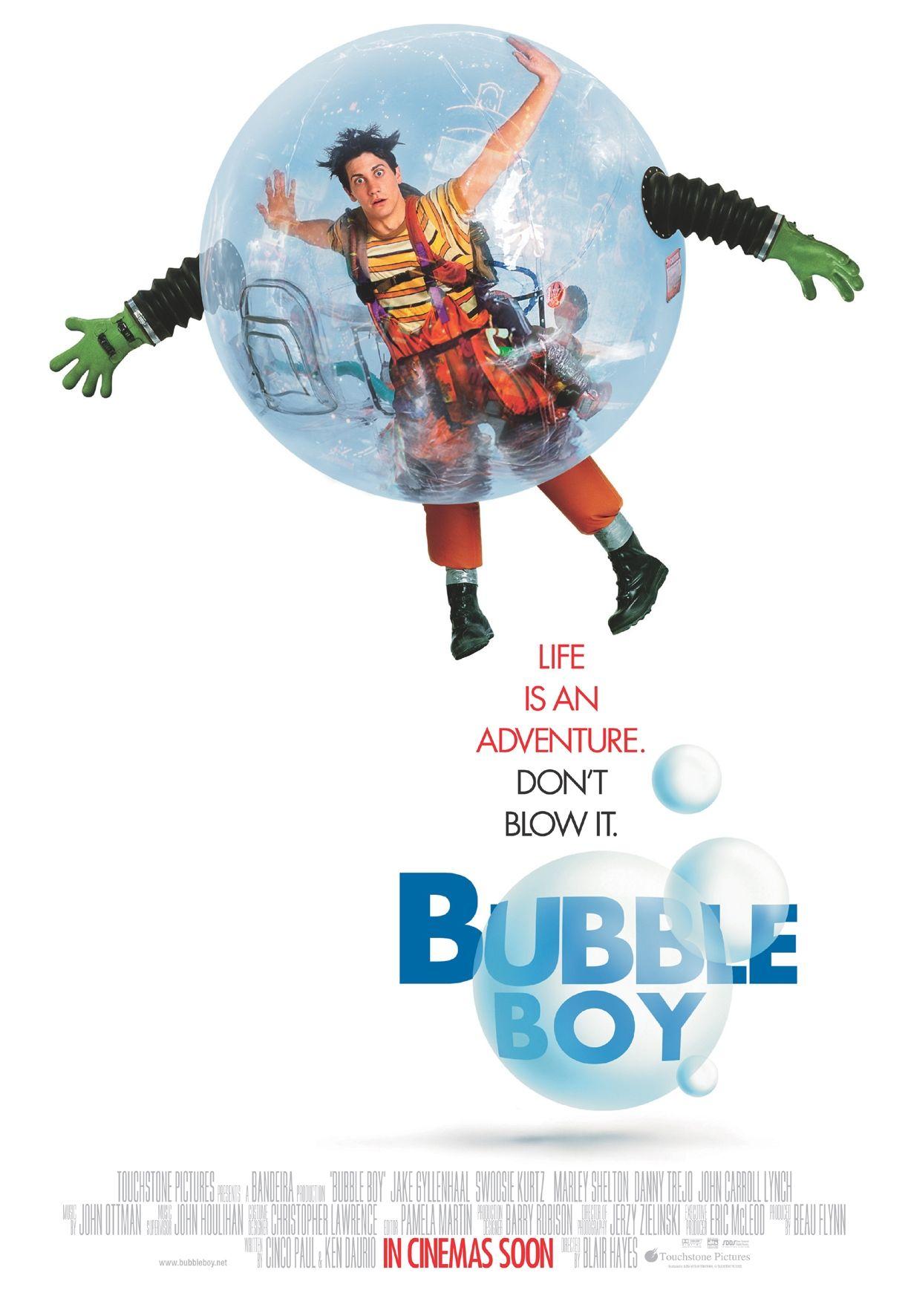 Bubble boy such a good and cute movie bubble boy