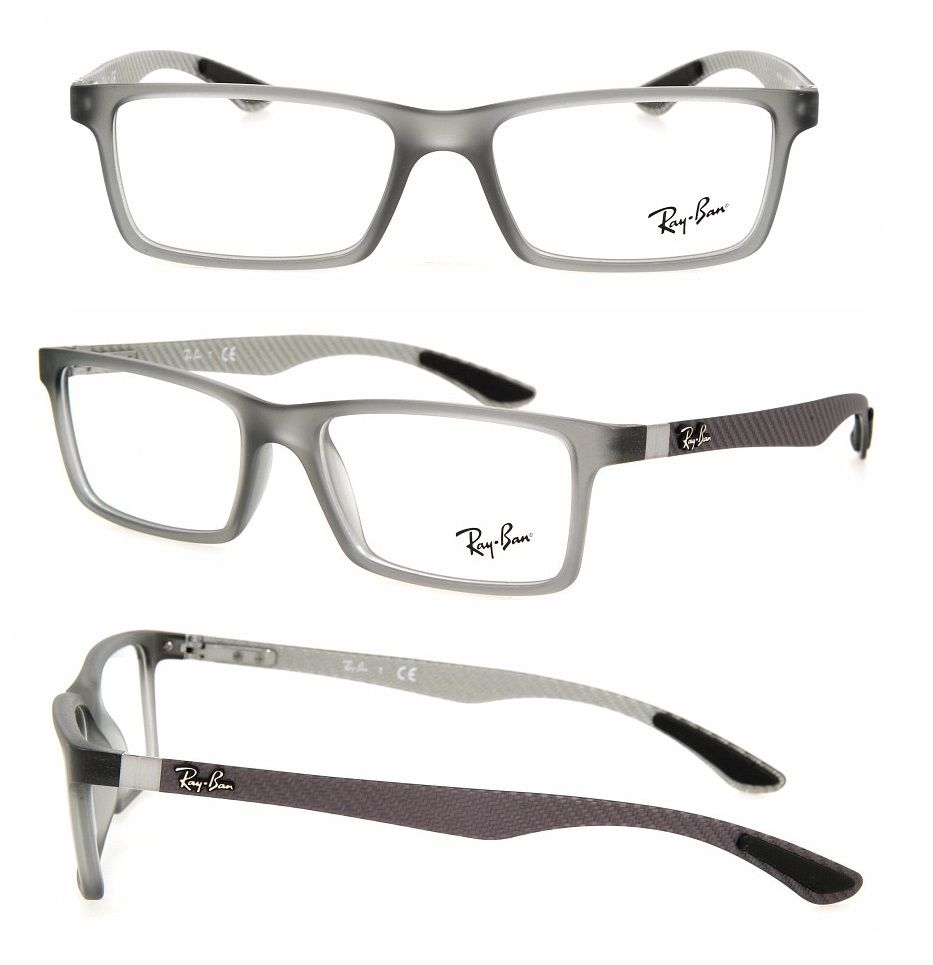 new ray ban carbon fibre frames collection at al jaber optical