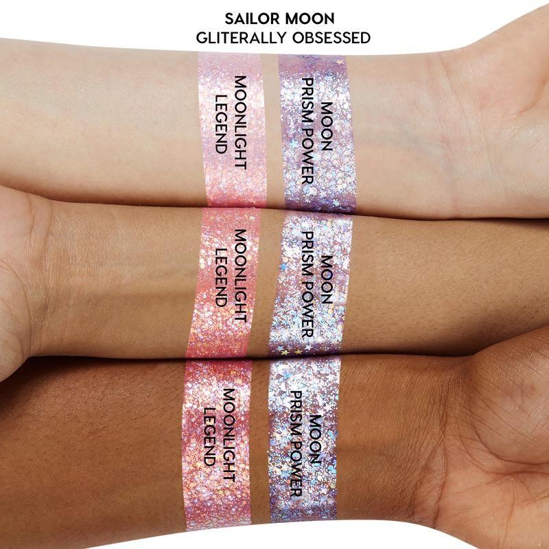 Moonlight Legend in 2020 Glitter gel, Pink glitter