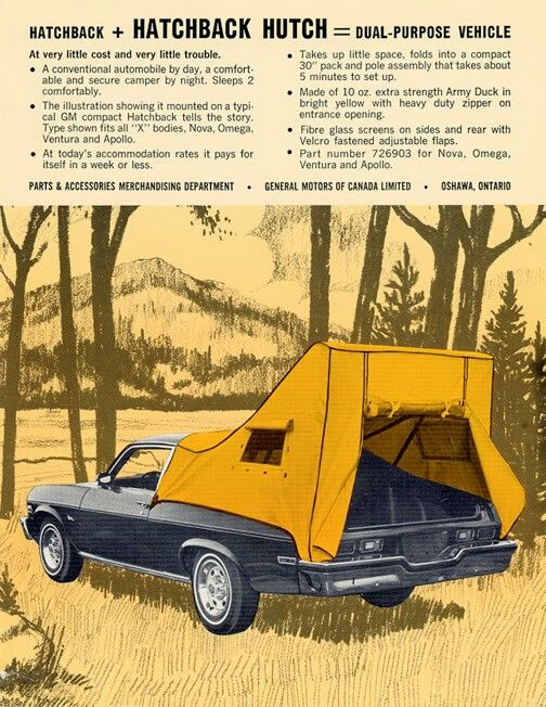 Hatchback hutch | 74 nova's | Car accessories, General