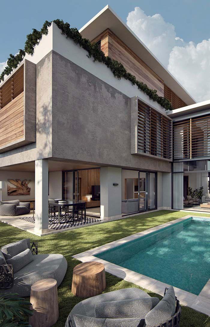 Casas modernas 100 modelos por fora por dentro e fotos - Casas de campo por dentro ...