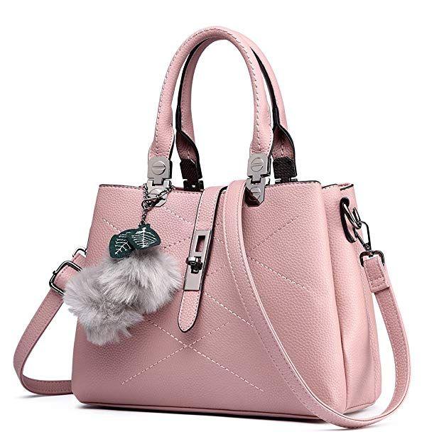 6b42e9054d8c Miss Lulu Designer Ladies Purses and Handbags for Women Tote Bags (Beige  E1751