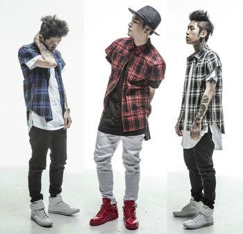 mens hip hop clothing - Google Search … | Black urban ...