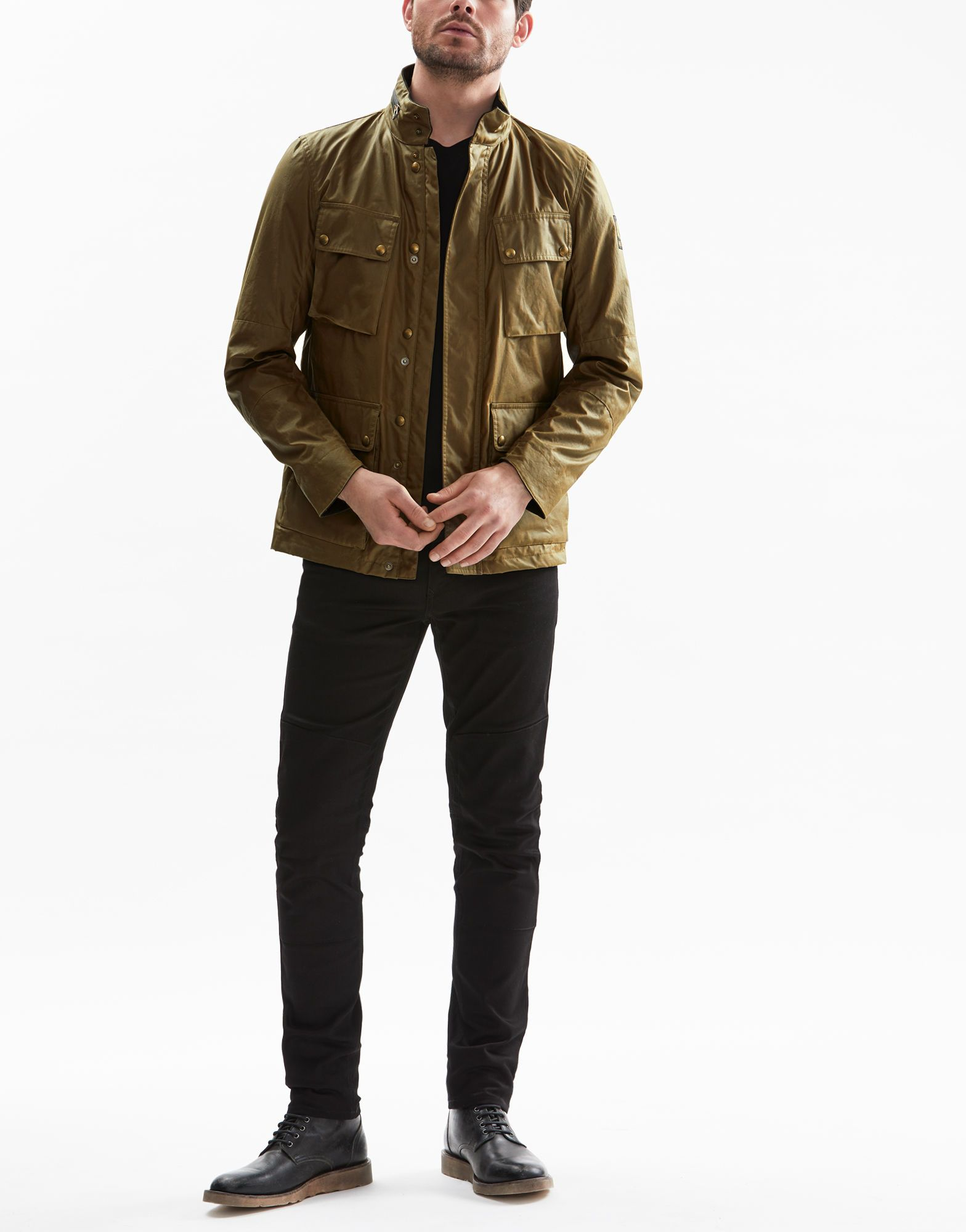 2f384392dd Belstaff - Explorer - In Capers Signature 6oz. Waxed Cotton ...
