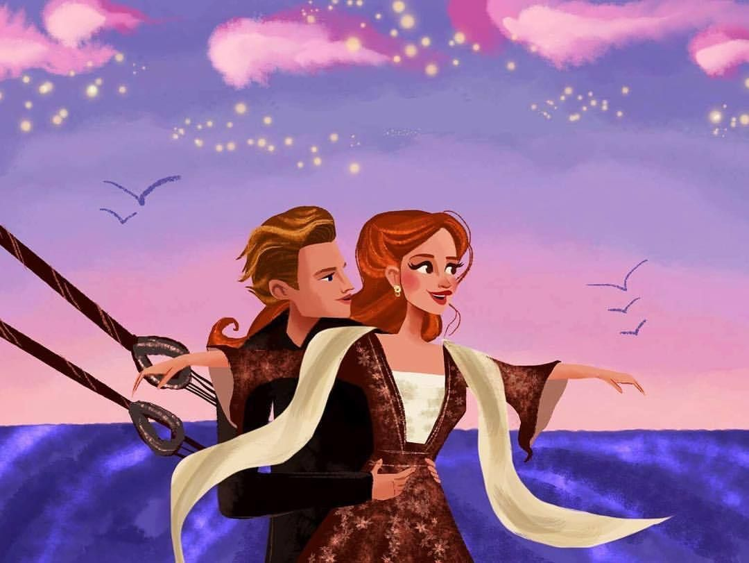 How can I draw Rose without Jack? These two are just incredible together! 🚢 #titanic | Ilustrações