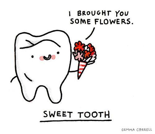 Sweet Tooth Dental Fun Dental Jokes Dental Humor