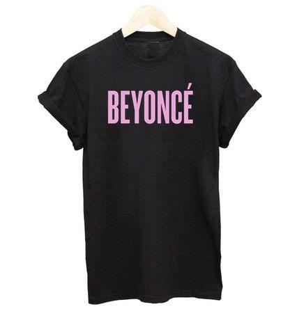 Black Beyoncé T-Shirt - Luxury Brand LA - Shop Fall/Winter Sales