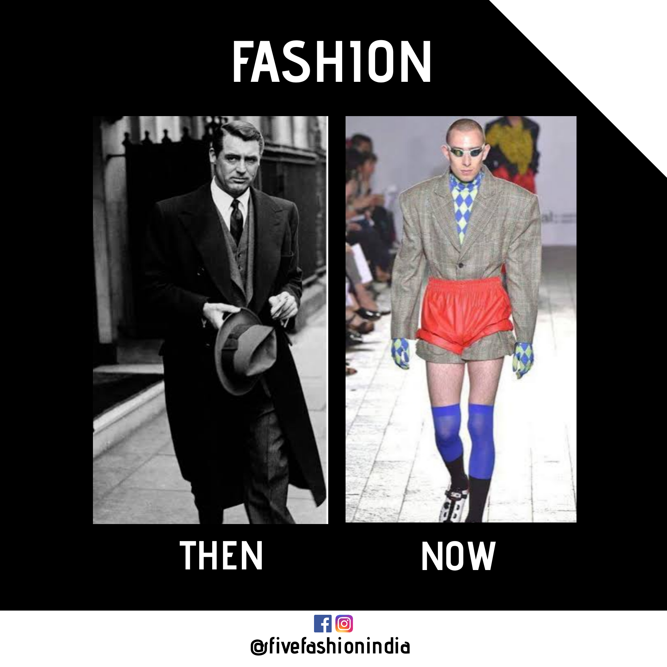 Fashion Then Vs Now Then Vs Now Ootd Men Fashion