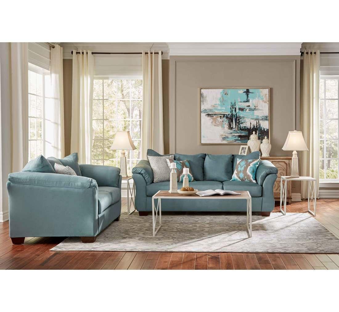 Emma Sky 14 Pc Group Badcock More Red Living Room Set Ashley Bedroom Furniture Sets Home Living Room [ 1012 x 1100 Pixel ]