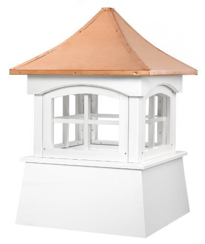 Good Directions Windsor Vinyl Cupola With Copper Roof 26 X 38 Maintenance Free Durable Royal Brand Pvc Vinyl With Pur Copper Roof Cupolas Good Directions