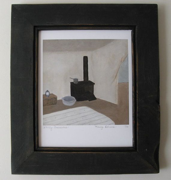 Worldly Possessions - limited edition giclée print