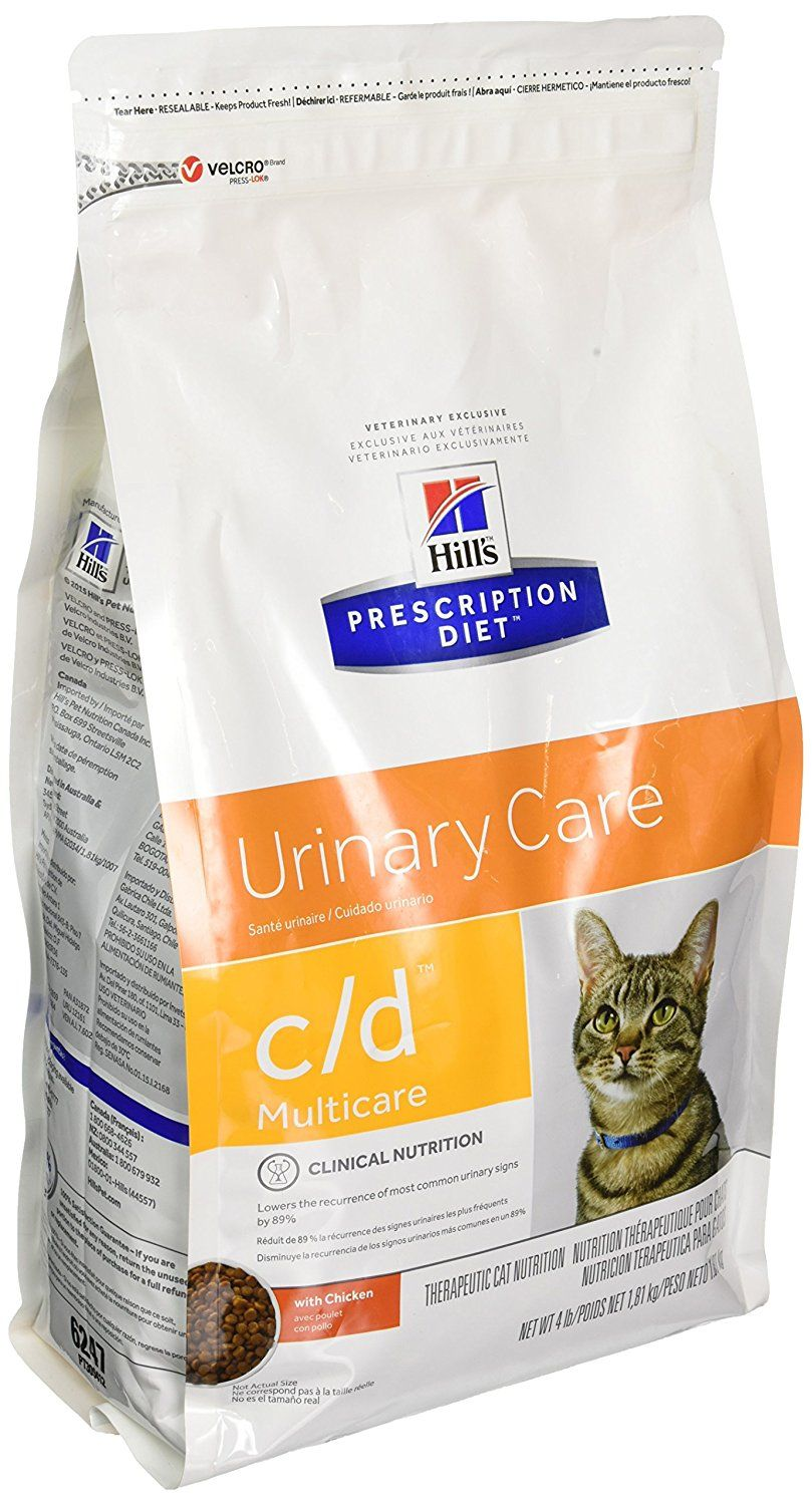 Hill S Prescription Diet C D Feline Urinary Tract Multicare Chicken 4lb You Can Find More Details By Visit Best Cat Food Cat Food Urinary Tract Cat Food