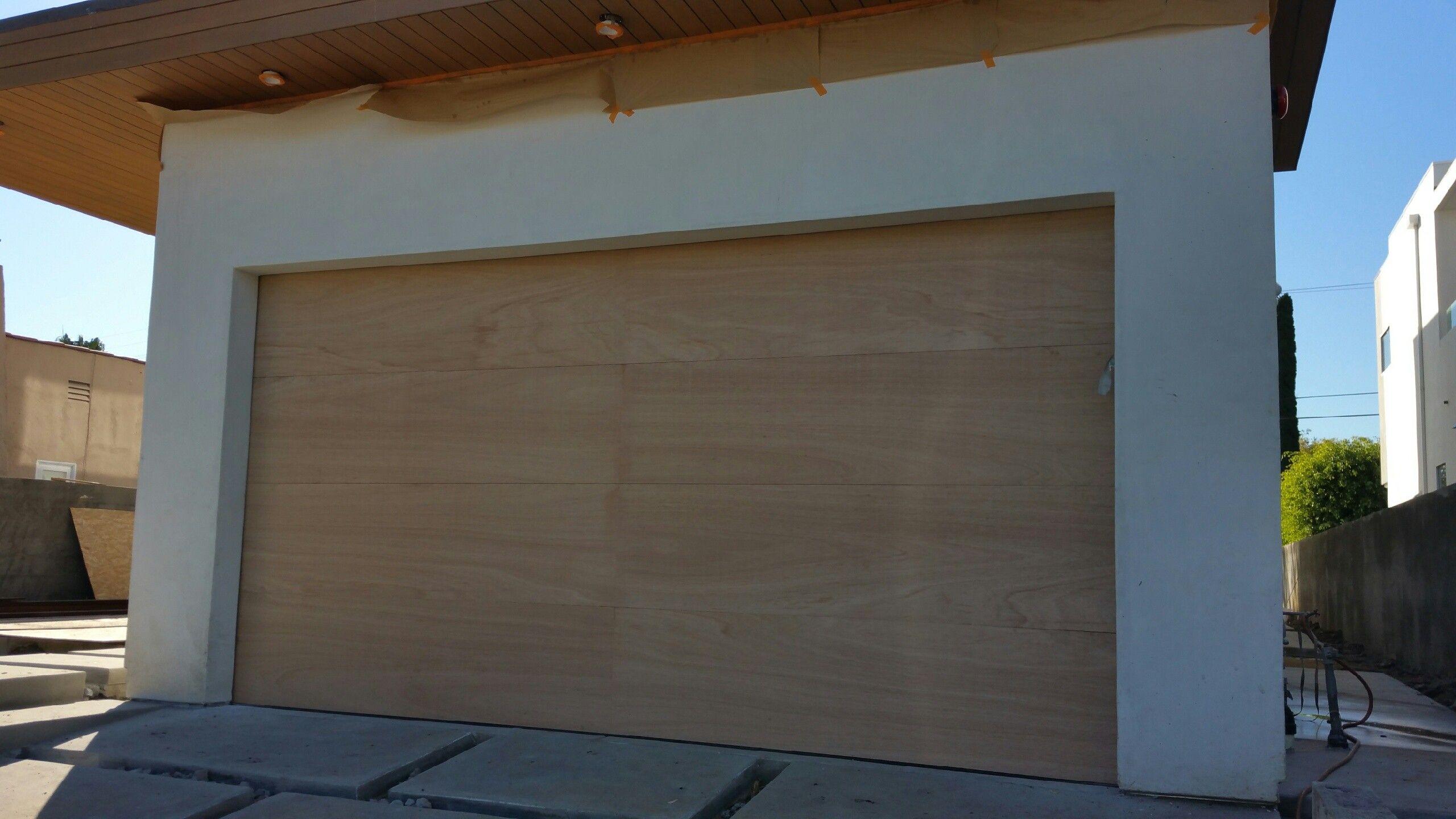 Image result for flush panel doors knoll garage pinterest doors lucas design modern style custom solid cedar wood garage door x rubansaba