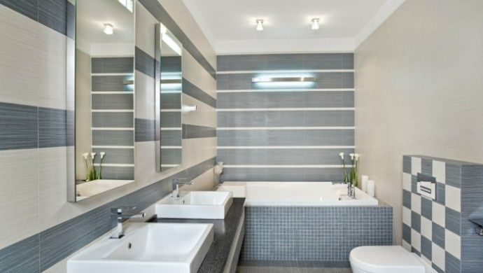 badezimmereinrichtung ideen fliesen badezimmer Badezimmer Pinterest