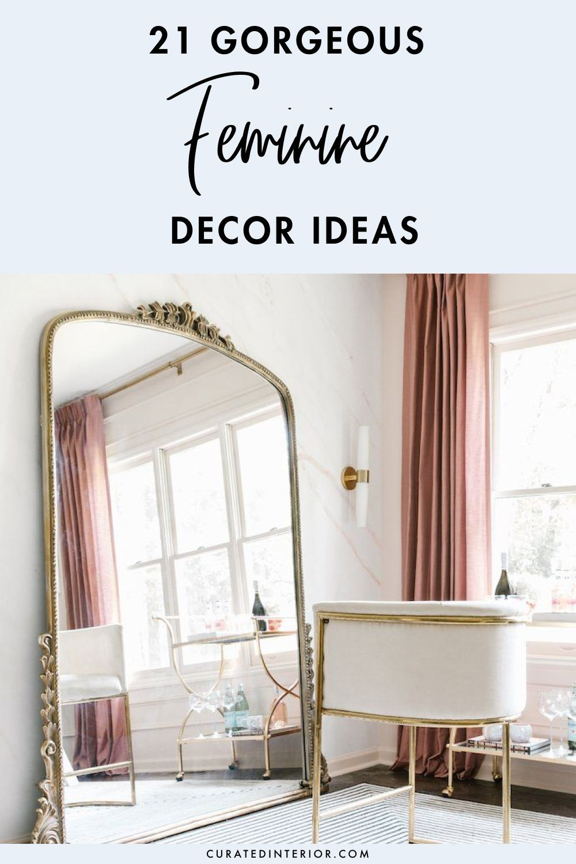 21 Gorgeous Feminine Home Decor Ideas Home Decor Decor Feminine Decor