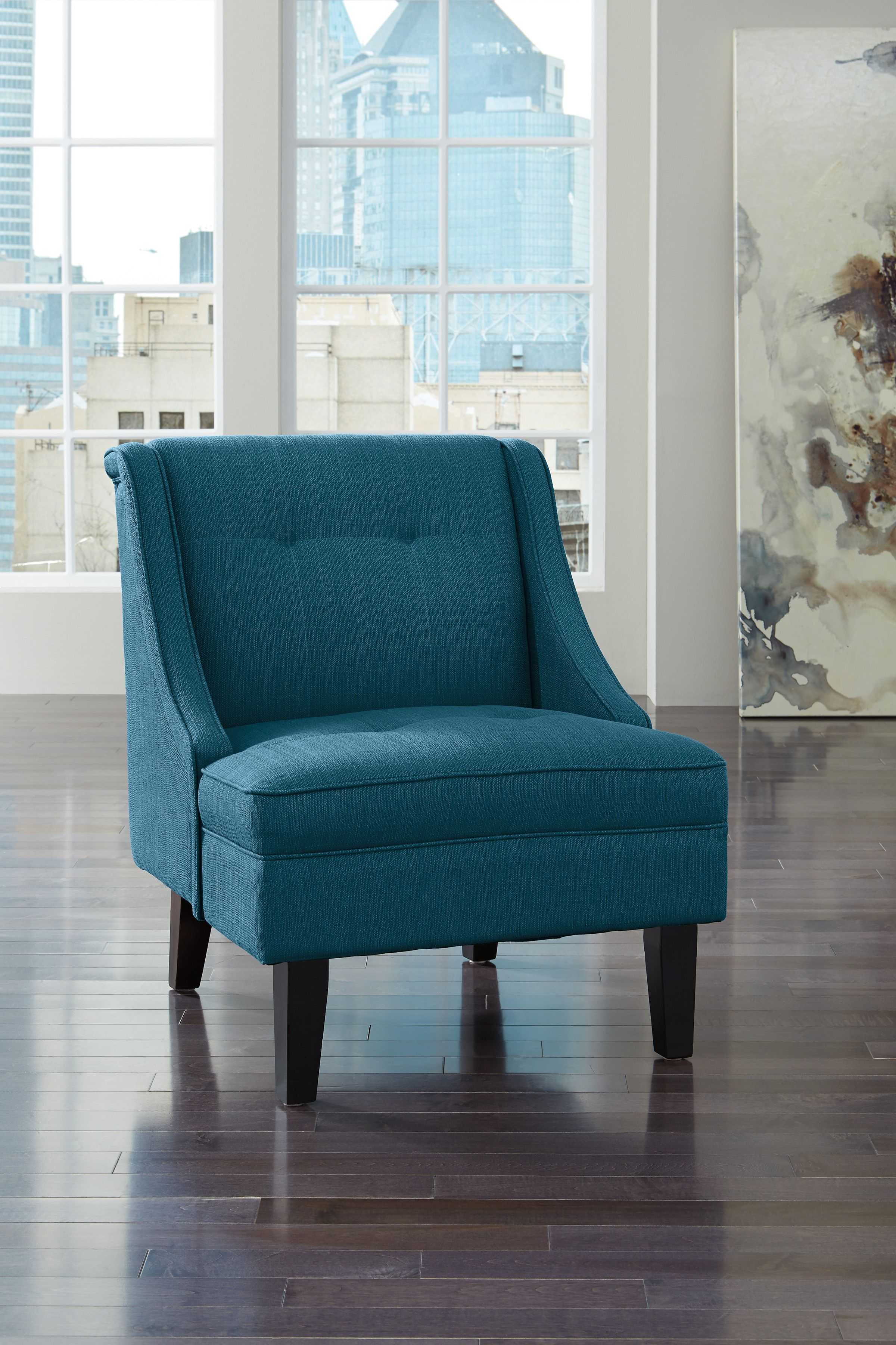 Clarinda Accent Chair Blue Accent Chairs Furniture Accent Chairs