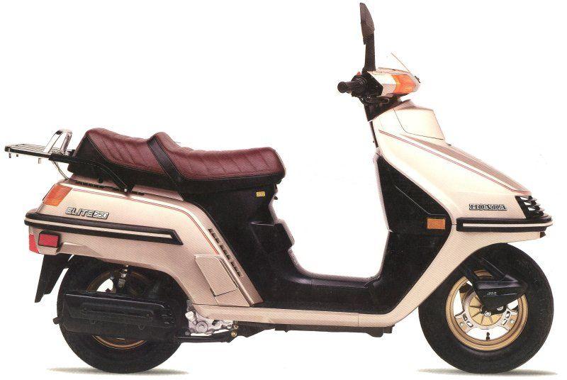 moto scooter honda elite