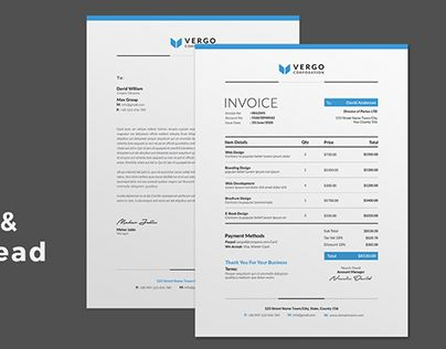 Check out new work on my @Behance portfolio  - work invoices