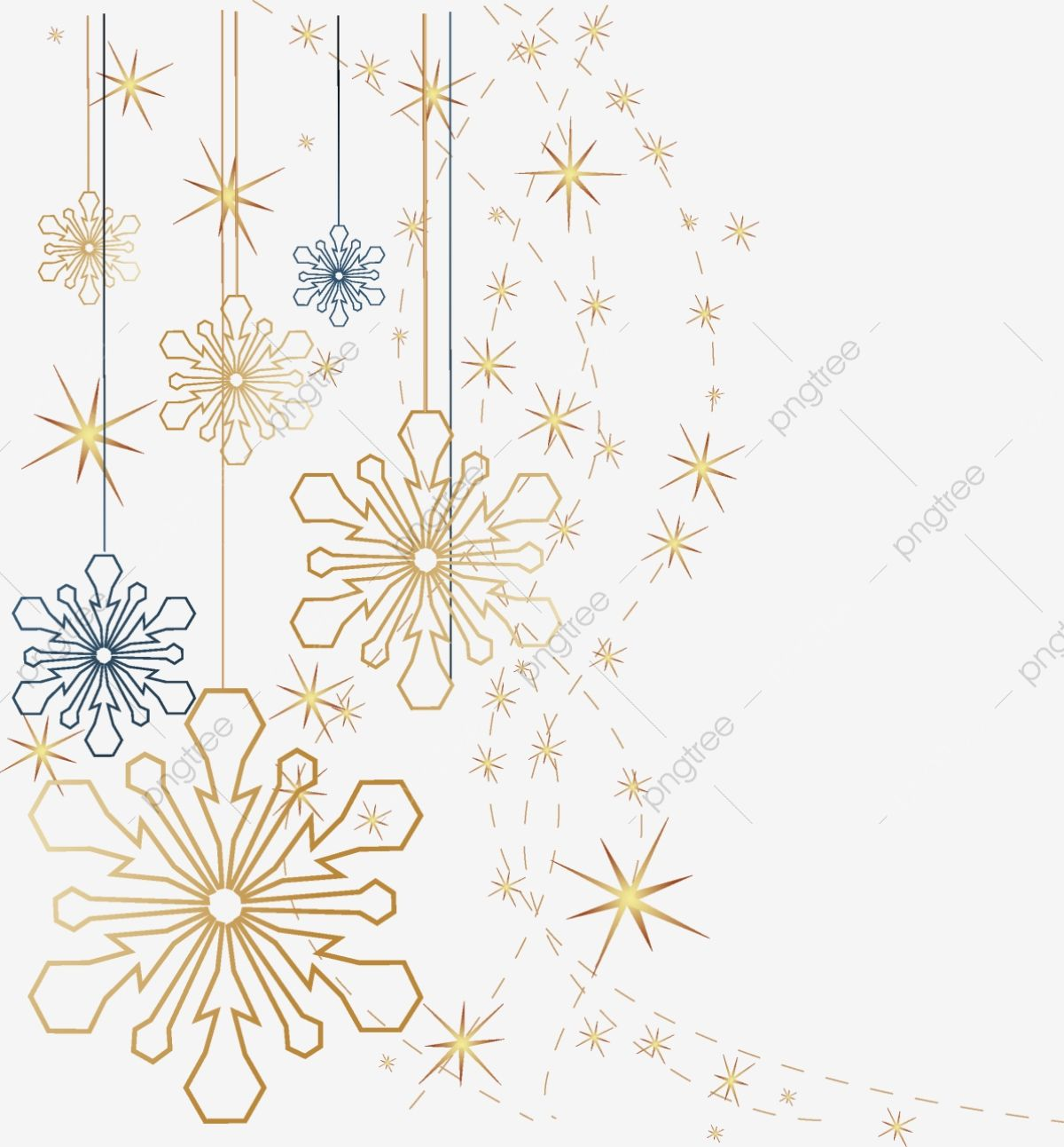 Snowflake Golden Snowflakes Blue Snowflake Png Transparent Clipart Image And Psd File For Free Download Winter Wallpaper Snowflakes Clip Art