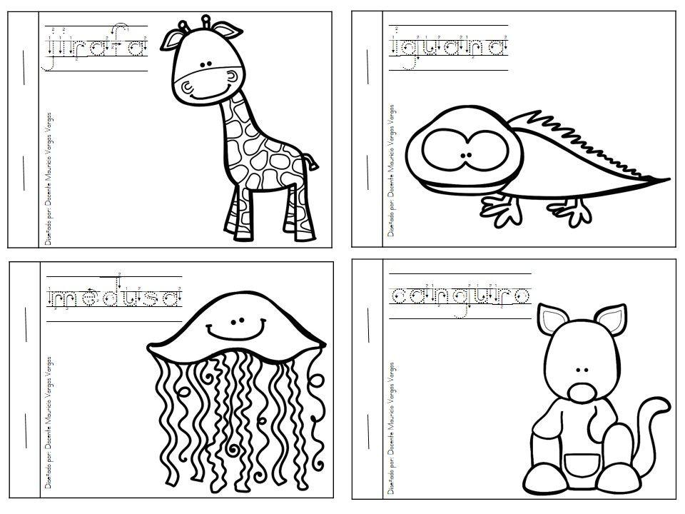 Dibujos Animales Salvajes Para Colorear E Imprimir: Mi Libro De Colorear De Animales Salvajes (2)