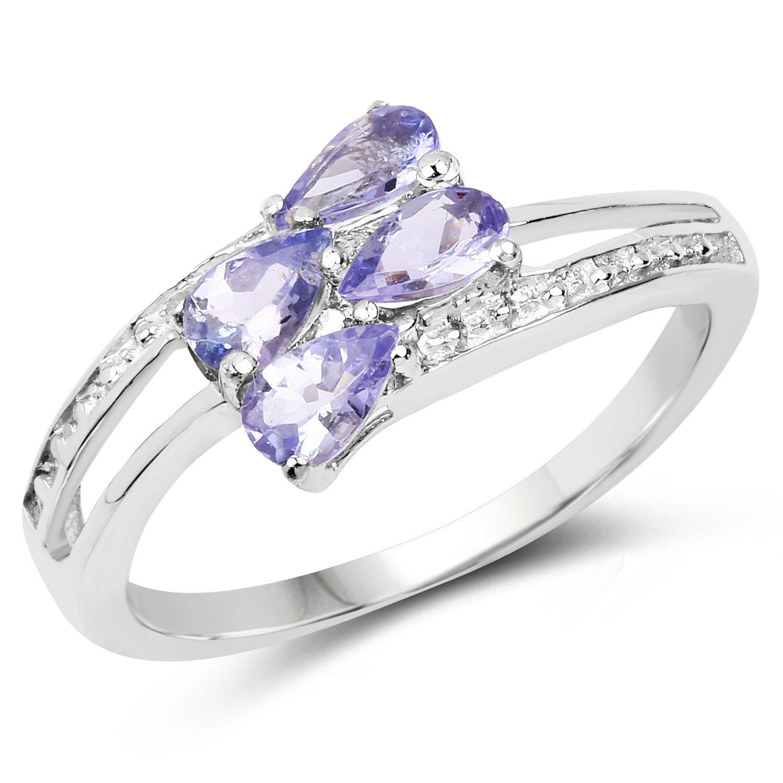 I1 clarity, G-I color Jewelry Adviser Rings 14k 5x3mm Oval Pink Sapphire AA Diamond ring Diamond quality AA