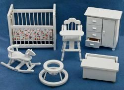 Baby Nursery Furniture 6 pc set